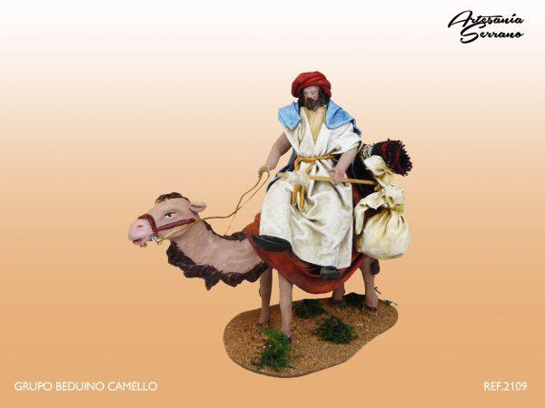 Beduino en camello